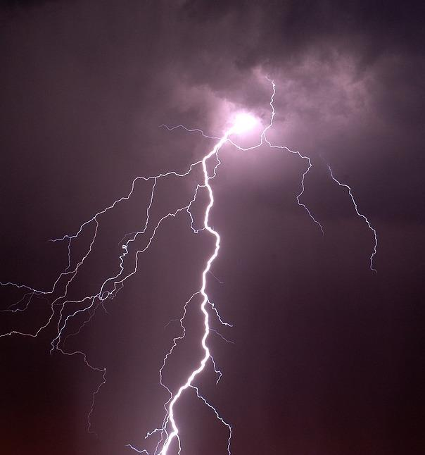 The north west could see thunderstorms on Thursday