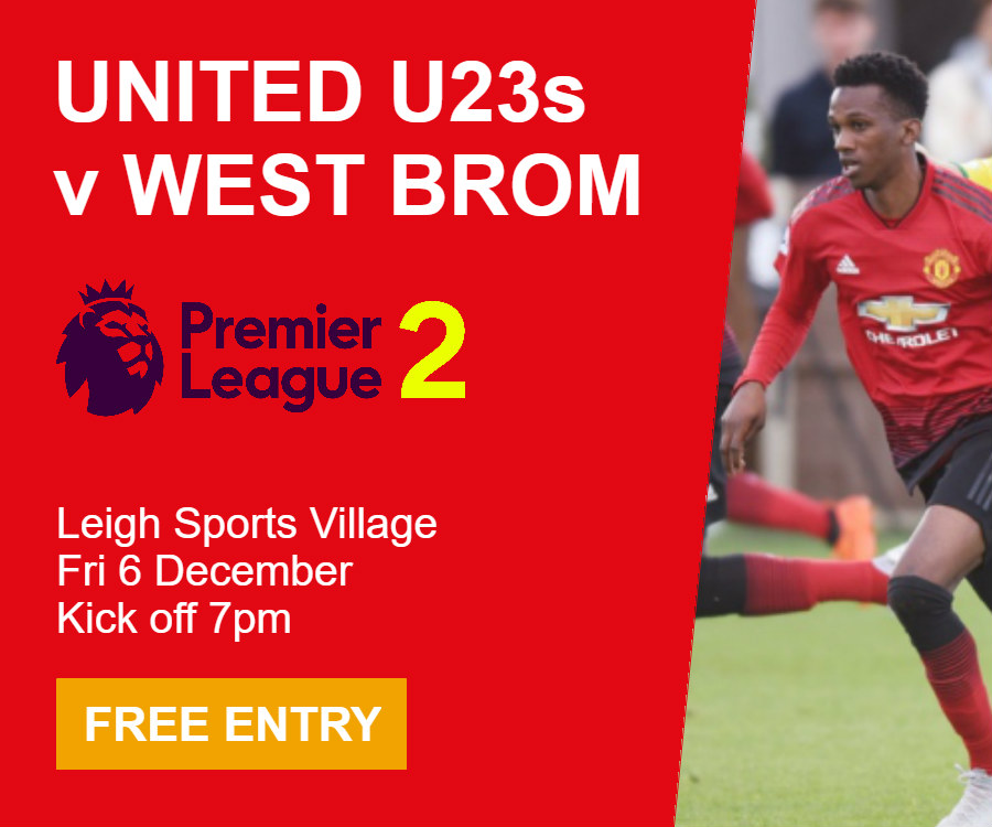 Manchester United U23s v West Bromwich Albion