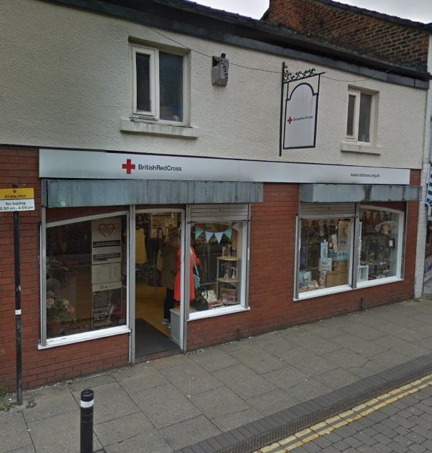 The British Red Cross shop on Union Street in Leigh. Picture: Google Maps