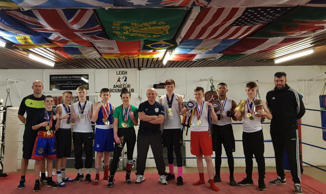 A record-breaking year at Leigh Boxing Club