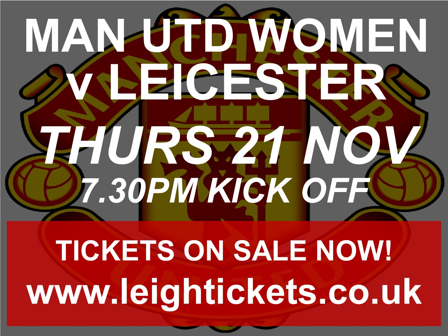 Manchester United Women v Leicester City