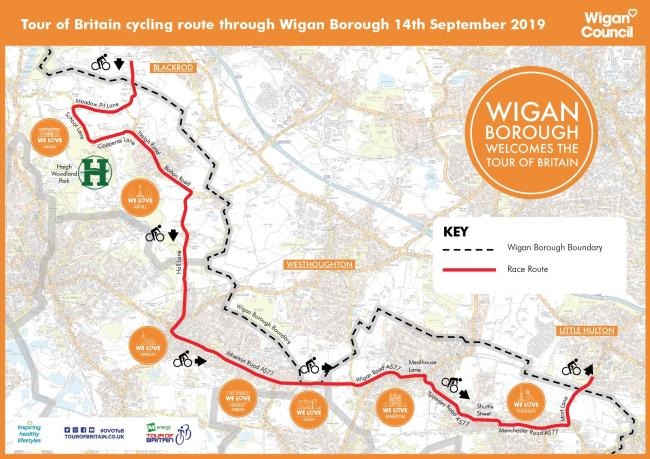 Final round of Britain's biggest professional cycling race to pass through borough