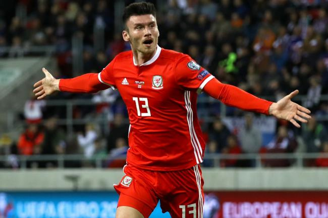 Kieffer Moore opened the scoring for Wales