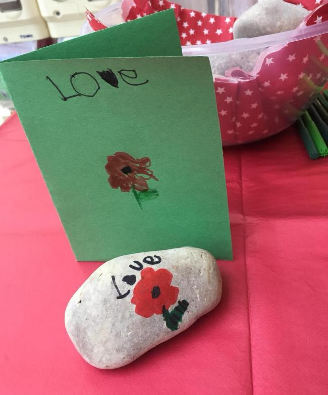 Would you like to paint a Remembrance Rock?