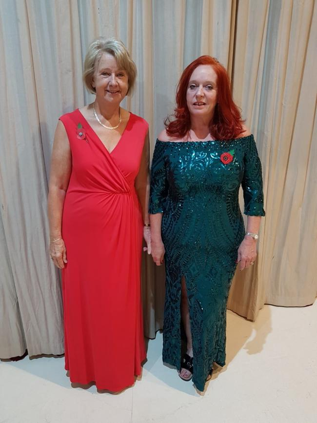 Act III Community Acting Group co-chairwomen Linda Davies and Loraine Knockton, who produced and directed the competition