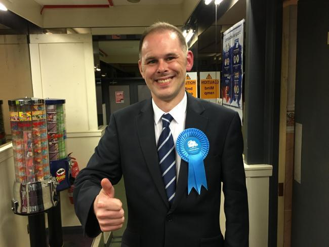 Leigh Conservative candidate James Grundy