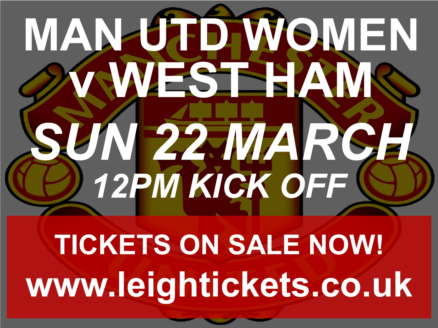 Manchester United Women v West Ham United