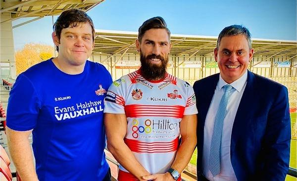Jarrod Sammut with John Duffy and Derek Beaumont