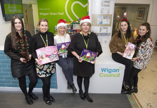 Toys will be collected before being given to children in Leigh