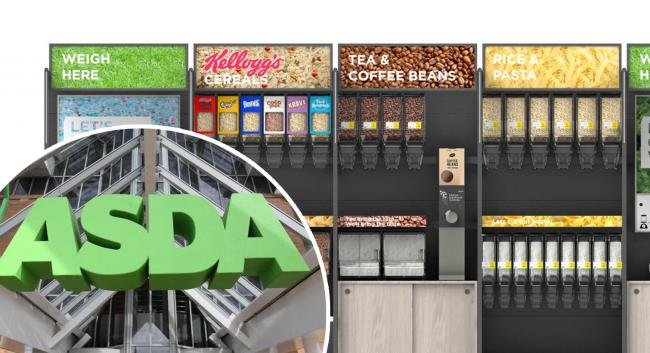 Asda launches first 'sustainability store' where customers will be able to fill their own containers at refill stations
