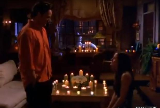 Leigh Journal: Monica proposes to Chandler in Friends. Credit: Youtube