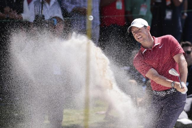Rory McIlroy produced a late rally