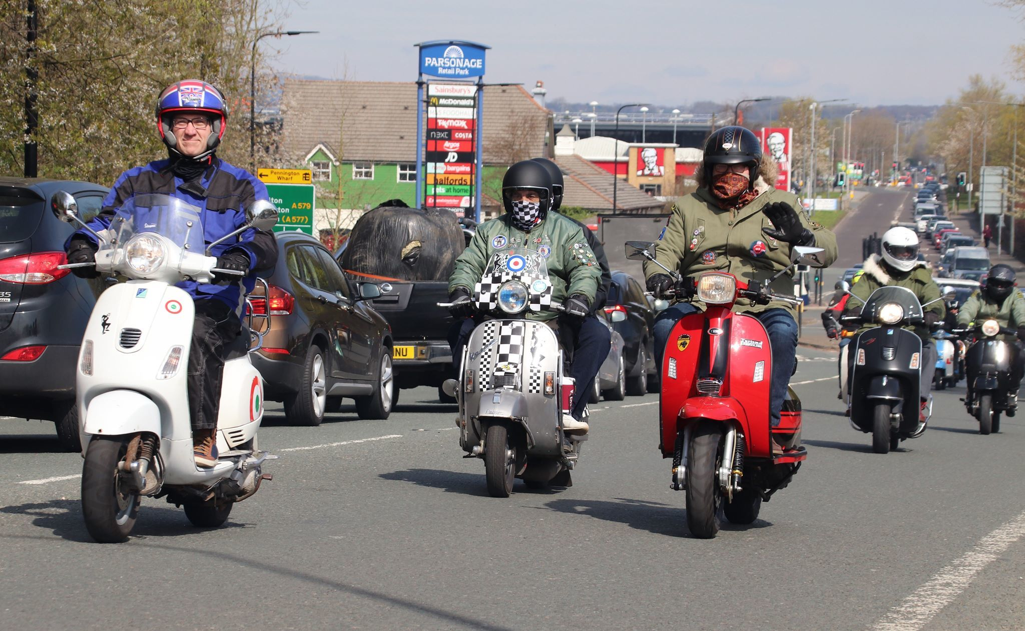 Convoy Of Riders Set To Deliver Easter Eggs To Children S Hospital Leigh Journal