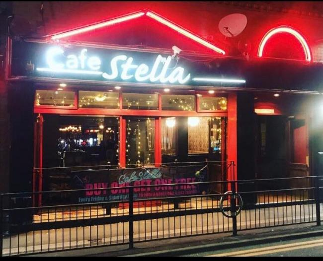 Cafe Stella on King Street in Leigh