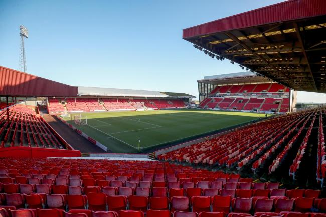 An Aberdeen player is self-isolating after testing positive for coronavirus