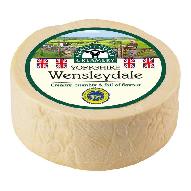 Leigh Journal: Wensleydale cheese. Picture credit: Wensleydale Creamery