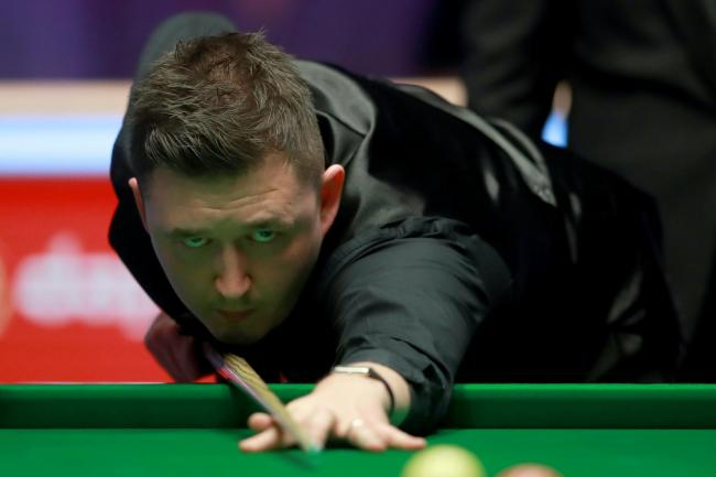 Kyren Wilson hit back in style in an impressive morning session at the Crucible
