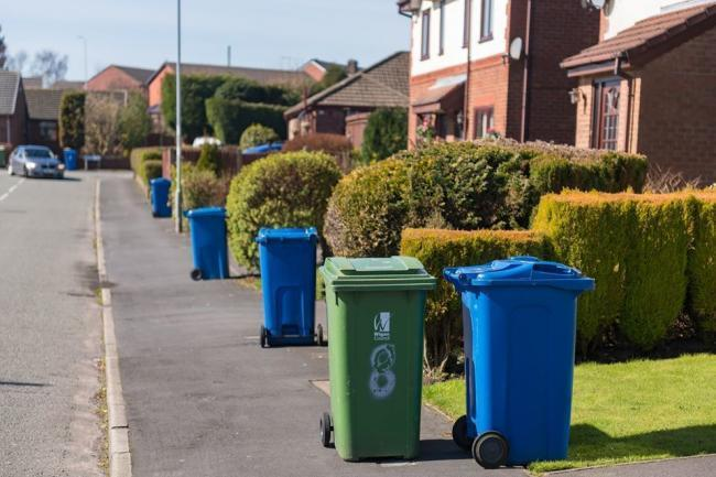 Latest recycling rates for the borough