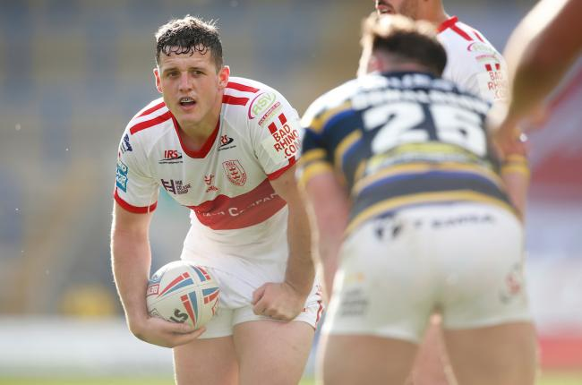 Matty Gee playing for Hull KR. Pic: SWpix.com