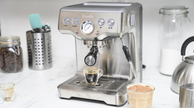Leigh Journal: If you're trying to kick your Costa habit, you may benefit from an espresso machine. Credit: Reviewed / Betsey Goldwasser