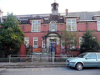 Demolition work starts at Leigh Girls' Grammar School