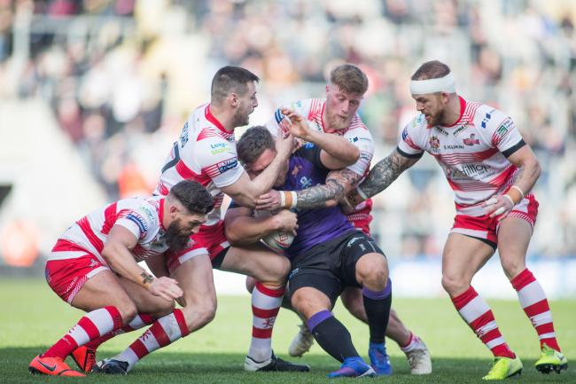 Leigh in action earlier this year. Picture: SWpix.com