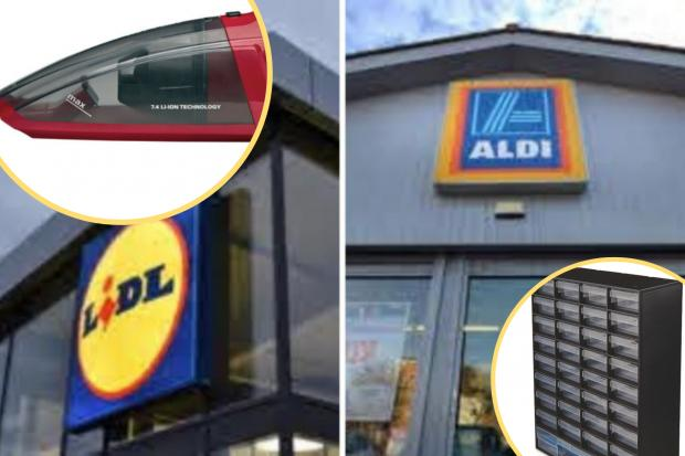 Aldi and Lidl middle aisles: What's available from Sunday, January 17? (PA/Aldi/Lidl/Canva)