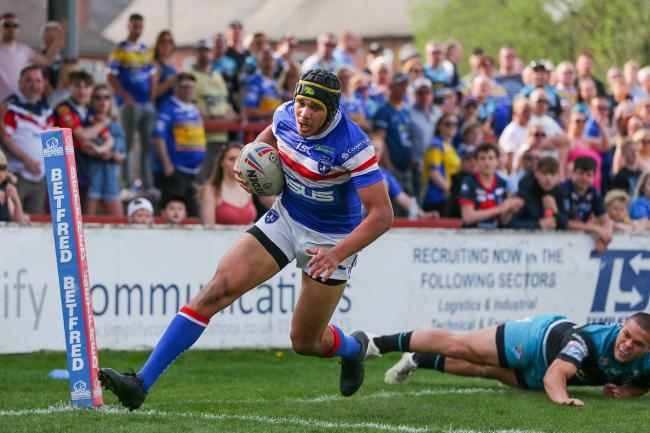 Ben Jones-Bishop, who has a new club having signed for York from Wakefield. Picture: SWpix.com