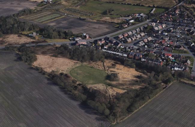 Edge Green Common, Golborne (Google Maps)