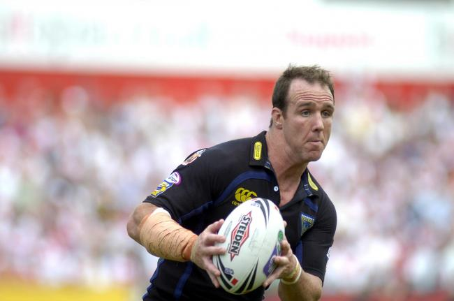Leigh strength and conditioning coach Paul Johnson during his playing days with Warrington Wolves in 2007. Picture: Mike Boden