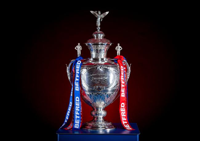 The Rugby League Betfred Challenge Cup. Picture: SWpix.com