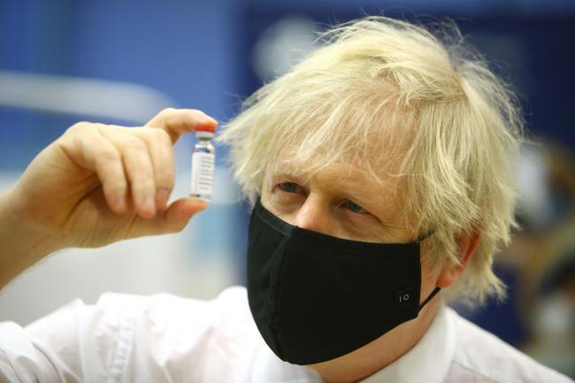 Boris Johnson has pledged to accelerate the vaccine programme