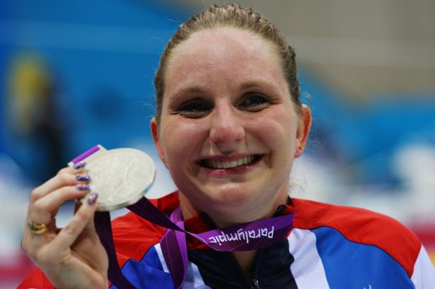 Heather Frederiksen won a gold and three silver medals at London 2012's Paralympics