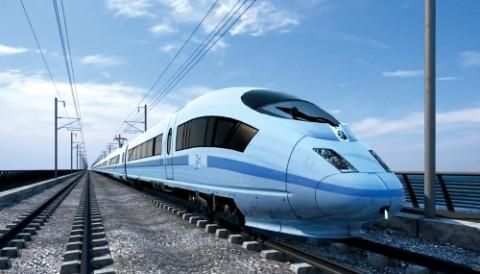HS2 rail heads through Lowton