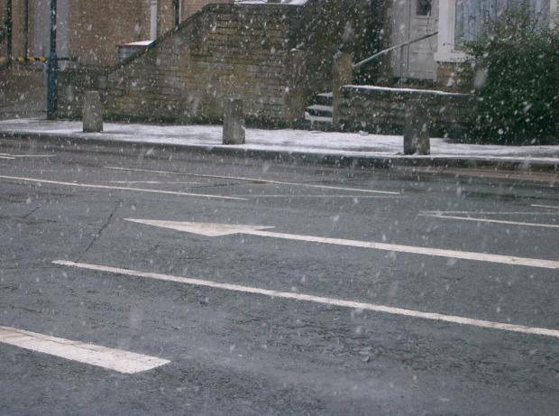 Residents should be aware of the risk of difficult driving conditions