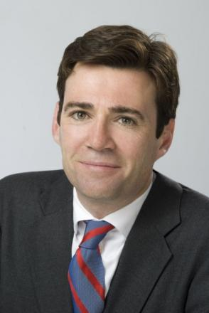 Leigh MP Andy Burnham
