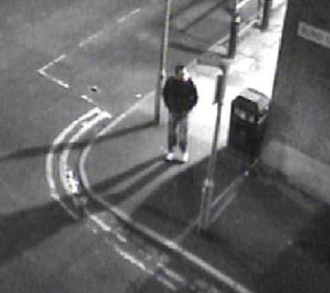 CCTV image released of man wanted in connection with sex attack