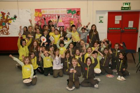 Birthday fun for the 6th Culcheth Brownies