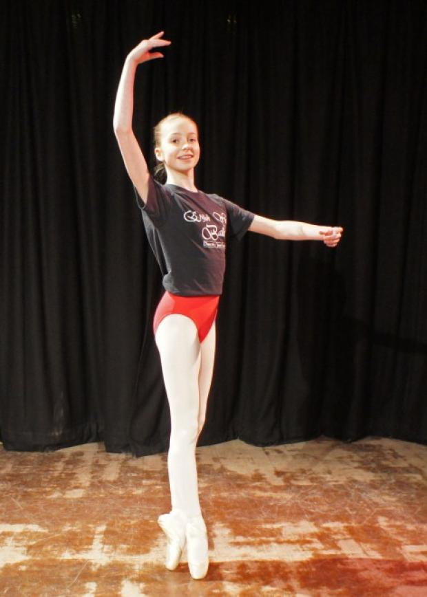 Charly Jane Billington will appear with the English Youth Ballet at its next production of Swan Lake.