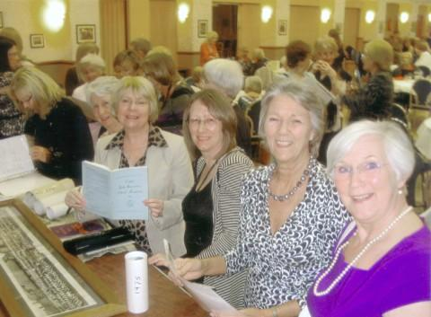 Former Leigh Girls' Grammar students meet for an annual reunion