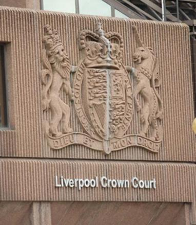 Jordan Newton pleaded not guilty at Liverpool Crown Court