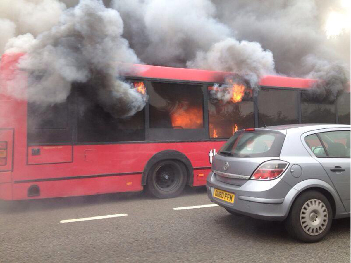 Another Sussex bus fire delays Brighton and Hove Albion fans