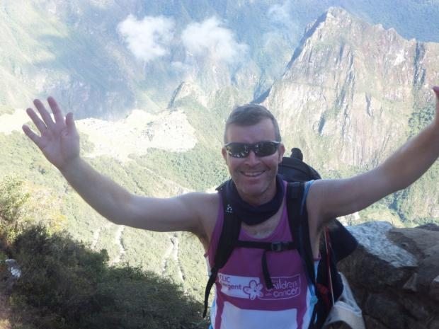 Santander worker scales Inca trail heights for charity