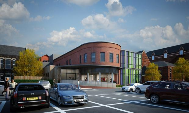 An impression of the new cancer care centre at Wigan Infirmary