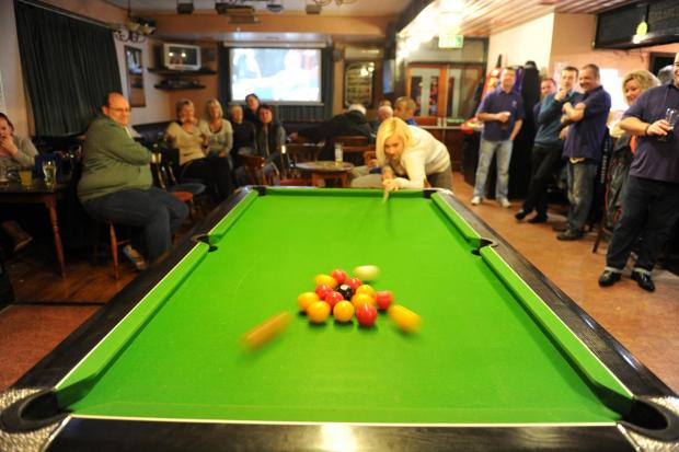The organisers want to purchase a pool table