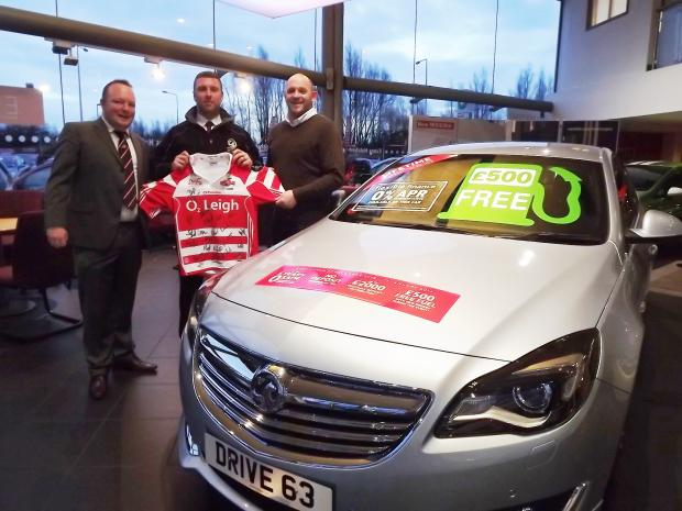 A new partnership for Leigh Centurions