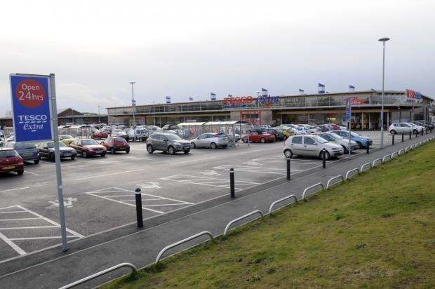 Leigh Journal: The Tesco Extra store
