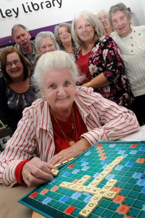Doris Critchley started the club when she brought he scrabble board along to another club