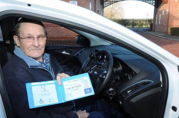 Colin Warren says he is determined not to pay a parking ticket he was issued in Leigh town centre