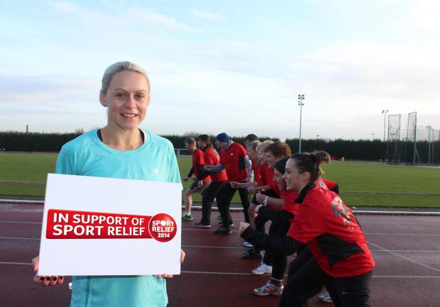 Carol Southern is urging residents to sign up for the Sport Relief Mile